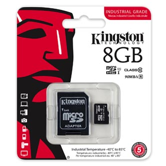 Kingston Micro Secure Digital card, 8GB, micro SDHC, SDCIT/8GB,